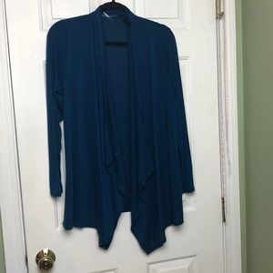 Rags & Couture open cardigan lg royal blue